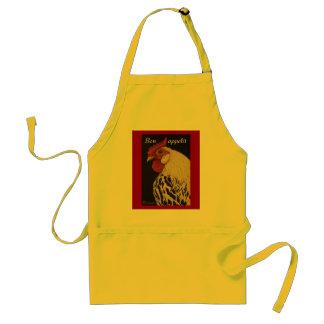 Bon appetit Rooster Adult Apron
