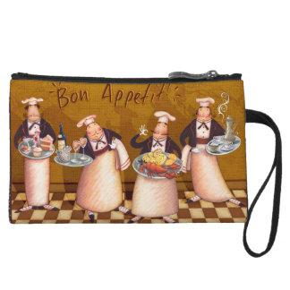 Bon Appétit Wristlet Purse