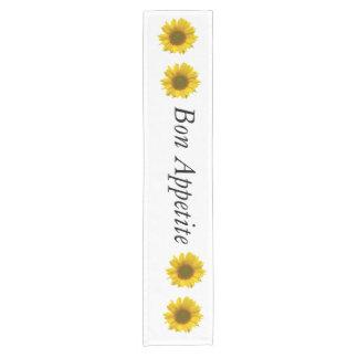 bon appetite sunflower table runner