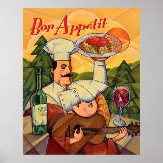Bon Apptit Poster