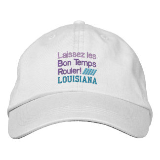 BON TEMPS ROULER cap Embroidered Baseball Caps
