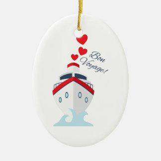 Bon Voyage! Christmas Ornament