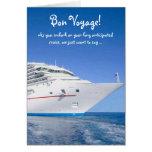 Bon Voyage Cruise Greeting Card