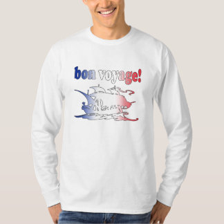 Bon Voyage Good Trip in French Vacations Travel T-Shirt