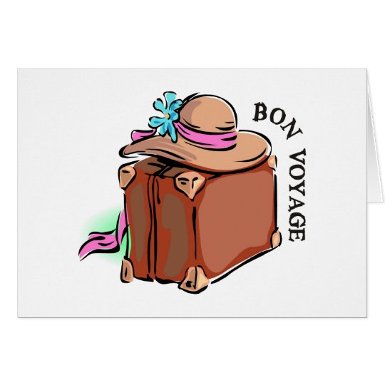 Bon Voyage, have a good trip! Luggage &