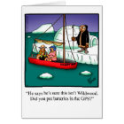 """Bon Voyage Humour Greeting Card """"Spectickles"""""""
