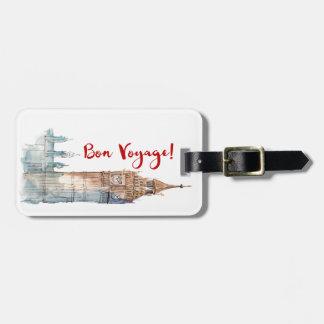 Bon Voyage Luggage Tag