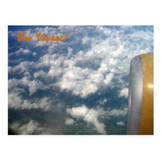 'Bon Voyage' photo postcard