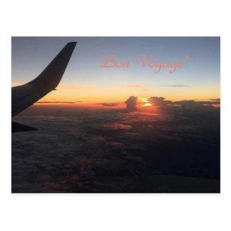 """""""Bon Voyage"""" Postcard"""