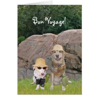 Bon Voyage Safari Greeting Card