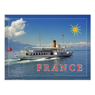 Bon voyage to France Postcard