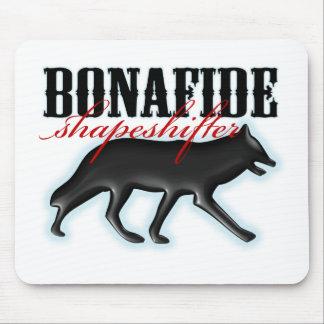 Bonafide Shapeshifter-Wolf Mouse Pad