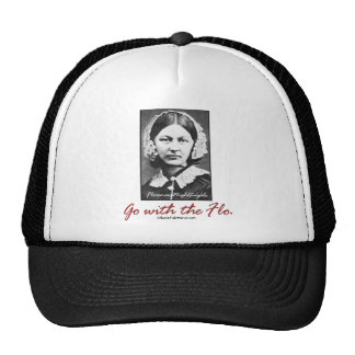 BonafideNurse_-_Go_with_the_Flo Mesh Hat