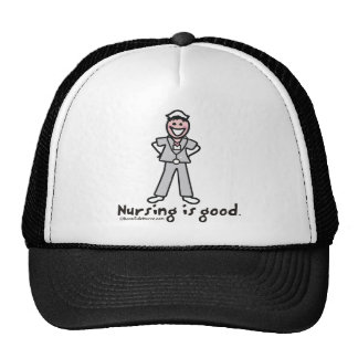 BonafideNurse-_nursing_is_good Mesh Hats