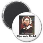 BonafideNurse_-_What_would_Flo_do 6 Cm Round Magnet