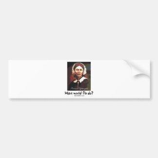BonafideNurse_-_What_would_Flo_do Bumper Sticker