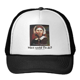 BonafideNurse_-_What_would_Flo_do Trucker Hats