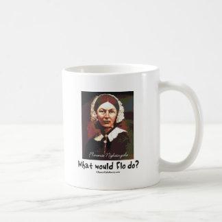 BonafideNurse_-_What_would_Flo_do Basic White Mug