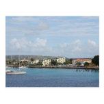 Bonaire Kralendijk Harbour Sailing Boats