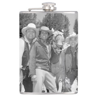 Bonanza Cast Flasks