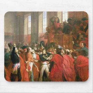 Bonaparte and Council of Five Hundred at St. Mouse Mat
