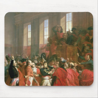 Bonaparte and Council of Five Hundred at St. Mouse Pad