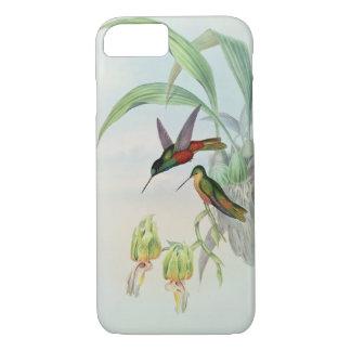 Bonaparte's Star Fronted Hummingbird (coloured lit iPhone 8/7 Case