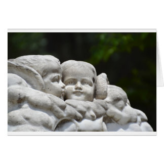 Bonaventure Cemetery Angel Note Card