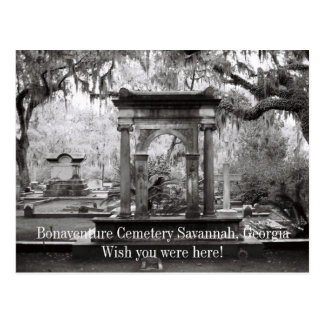 Bonaventure Cemetery Savannah Post Card