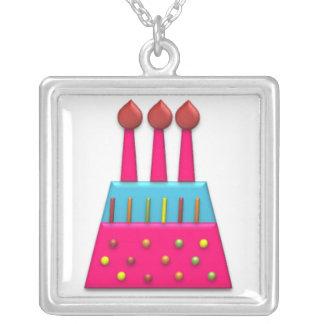 BonBon Party Rainbow Birthday Cake Pink Jewelry