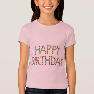 BonBon Party Rainbow Happy Birthday T-Shirt