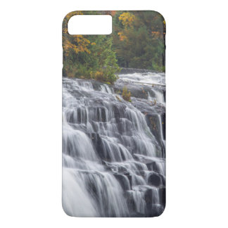 Bond Falls In Autumn Near Paulding, Michigan iPhone 8 Plus/7 Plus Case