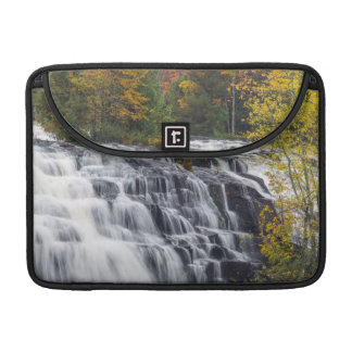 Bond Falls In Autumn Near Paulding, Michigan Sleeve For MacBooks
