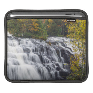 Bond Falls In Autumn Near Paulding, Michigan Sleeves For iPads