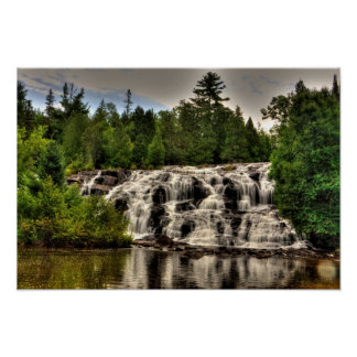 Bond Falls, Michigan. Poster