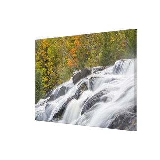 Bond Falls on the Middle Fork of the Ontonagon Canvas Print