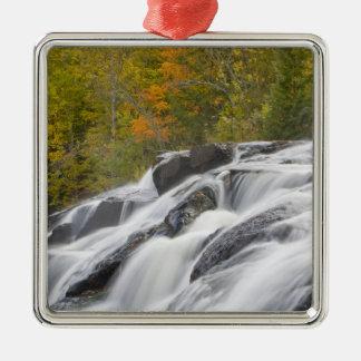 Bond Falls on the Middle Fork of the Ontonagon Christmas Ornament