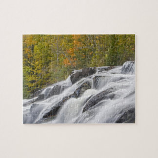 Bond Falls on the Middle Fork of the Ontonagon Jigsaw Puzzle