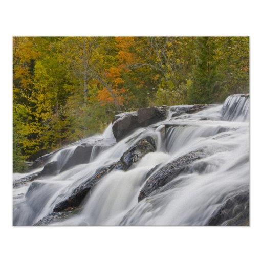 Bond Falls on the Middle Fork of the Ontonagon Posters