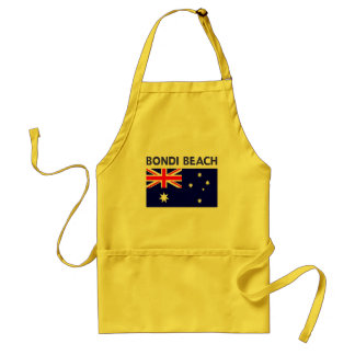 BONDI BEACH Australia T shirts and Products Standard Apron
