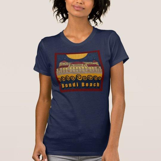 Bondi Beach Pavilion Navy Blue T-shirt