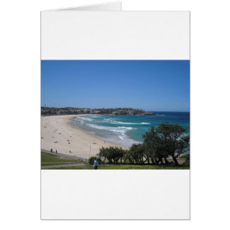 Bondi Beach Sydney Australia Card
