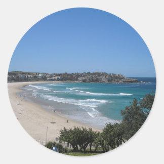 Bondi Beach Sydney Australia Classic Round Sticker