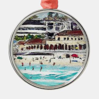 Bondi Vista Silver-Colored Round Decoration