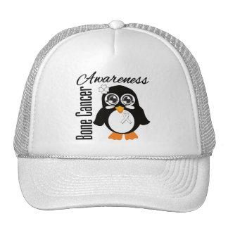 Bone Cancer Awareness Penguin Trucker Hat