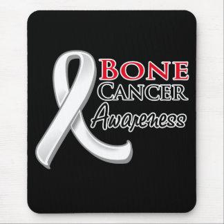 Bone Cancer Awareness Ribbon Mouse Pads