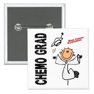 Bone Cancer CHEMO GRAD 1 Pinback Buttons