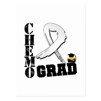 Bone Cancer Chemo Grad Post Card