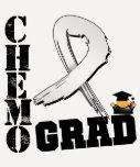 Bone Cancer Chemo Grad T Shirts