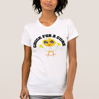 Bone Cancer Chick For A Cure T-shirts